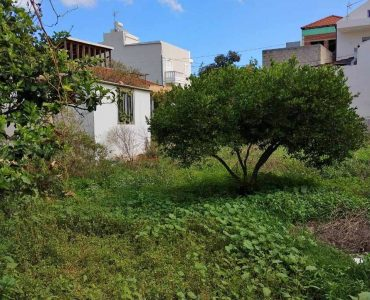 land old house akrotiri chania sale